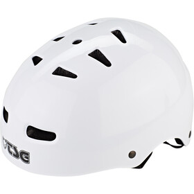 TSG Skate/BMX Injected Color Helmet Herren injected white